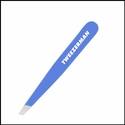 Tweezerman <br>Blue Mini Slant <br>Tweezers