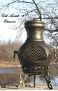 Etruscan Style Chiminea CH-028 Gold Accent