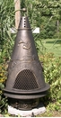 Garden Style Chiminea CH-009 Gold Accent