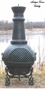 Gatsby Style Chiminea CH-016 Antique Green