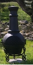 Gatsby Style Chiminea CH-016 Charcoal