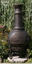 Gatsby Style Chiminea CH-016 Gold Accent