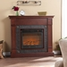 Lungarno Cherry Electric Fireplace
