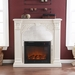 Luxembourg Ivory Electric Fireplace