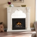 Luxembourg Ivory Gel Fireplace
