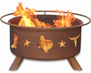 Patina F-115 Lone Star Hand Crafted 100% Cold-Rolled Steel