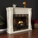 St. Lawrence Ivory Gel Fireplace