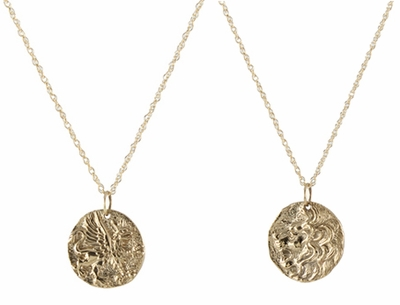 Ancient Coin Necklace