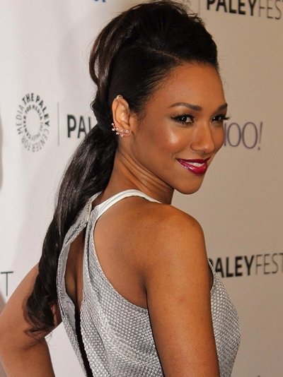 Candice Patton Paleyfest 2015 Celebrities Handmade