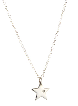 Darling Diamond Charm Necklace (3 shapes)