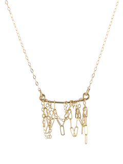 Delicate Fringe Necklace