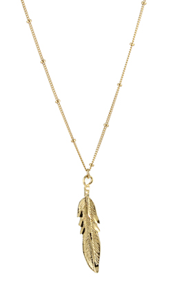 Feather Necklace - Seen on The Bachelorette