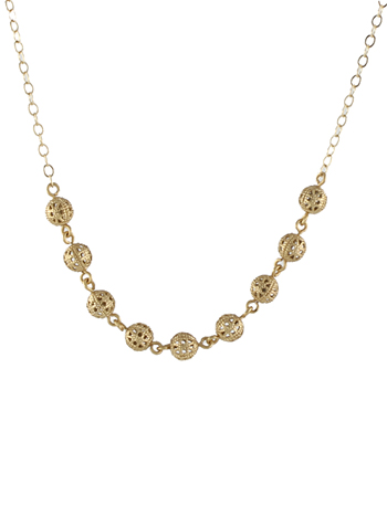 Flirty Filigree Necklace