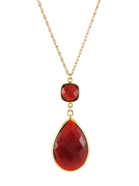 Large Witchy Red Necklace