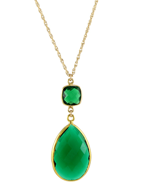 Large Witchy Green Necklace