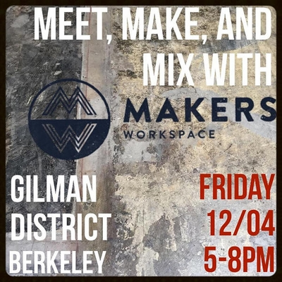 Makers Workspace Open House Dec 4 Handmade Jewelry By