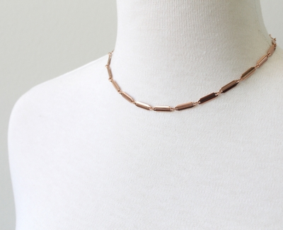 Multi Bar Choker Necklace
