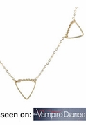 Multi Geometric Shape Necklace