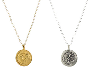 Om Charm Necklace