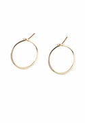 Small (Tiny!) Hoop Earrings