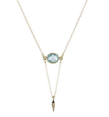 Swiss Blue Point Necklace - seen on The Bachelorette