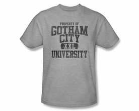 BATMAN T-SHIRT ATHLETIC PROPERTY OF GOTHAM CITY UNIVERSITY