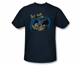 BATMAN T-SHIRT COMIC BOOK DRAWING THROUGH THE NIGHT