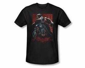 BATMAN T-SHIRT DARK KNIGHT RISES BATMAN & BANE