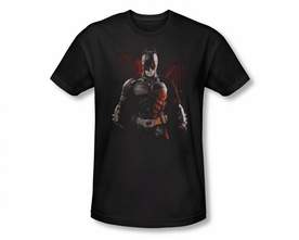 BATMAN T-SHIRT DARK KNIGHT RISES BATMAN BATTLEGROUND