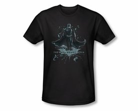 BATMAN T-SHIRT DARK KNIGHT RISES BREAK THROUGH