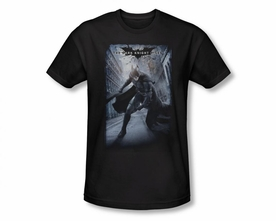 BATMAN T-SHIRT DARK KNIGHT RISES CRUMBLED POSTER