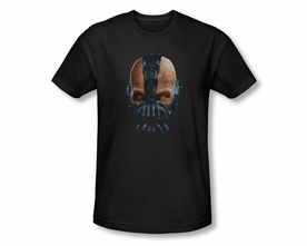 BATMAN T-SHIRT DARK KNIGHT RISES PAINTED BANE
