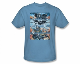 BATMAN T-SHIRT DARK KNIGHT RISES SHATTERED GLASS