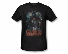 BATMAN T-SHIRT DARK NIGHT RISES RISE FROM DARKNESS