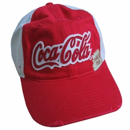 Coca Cola Baseball Adult Cap