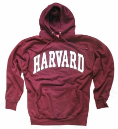 HARVARD UNIVERSITY HOODIE SWEATSHIRT CRIMSON ATHLETIC
