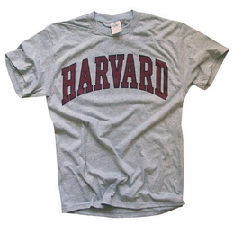 HARVARD UNIVERSITY T-SHIRT CRIMSON ATHLETIC