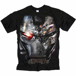 IRON MAN 2 WAR FACE TONY STARK T-SHIRT