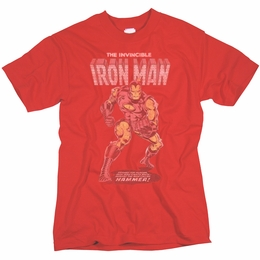 IRON MAN THE INVINCIBLE VINTAGE COVER ART T-SHIRT