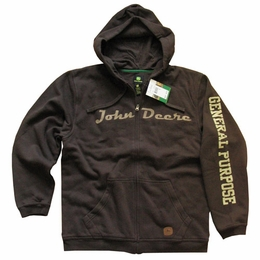 JOHN DEERE HOODIE SWEATSHIRT OFFICIALLY LICENSED