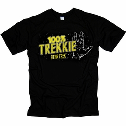 STAR TREK 100% TREKKIE ORIGINAL SERIES T-SHIRT