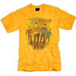STAR TREK ANIMATED ORIGINAL SERIES T-SHIRT