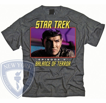 STAR TREK BALANCE OF TERROR ORIGINAL SERIES T-SHIRT