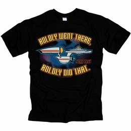 STAR TREK BOLD ORIGINAL SERIES T-SHIRT