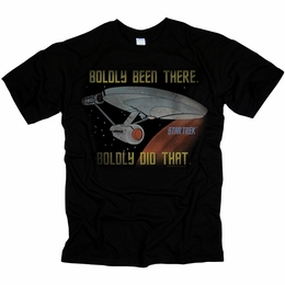 STAR TREK BOLDLY DID THAT ORIGINAL SERIES T-SHIRT