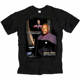 STAR TREK CAPTAIN SISKO DEEP SPACE NINE T-SHIRT