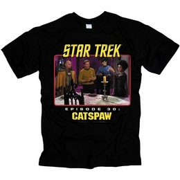 STAR TREK CATS PAW ORIGINAL SERIES T-SHIRT