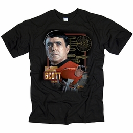 STAR TREK CHIEF ENGINEER SCOTT ORIGINAL SERIES T-SHIRT