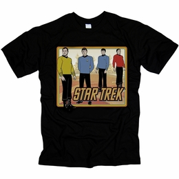 STAR TREK CLASSIC ORIGINAL SERIES T-SHIRT