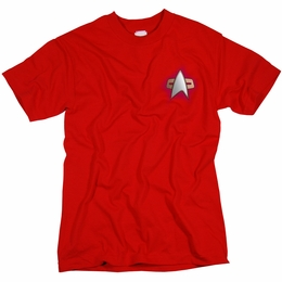 STAR TREK COMMAND UNIFORM DEEP SPACE NINE T-SHIRT